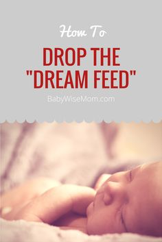 """Dropping the """"Dream Feed"""""""
