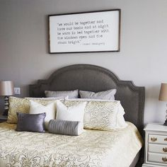 Great Check Out Emily B.u0027s Beautiful Bedroom Complete With A Stoked Pewter King  Bed