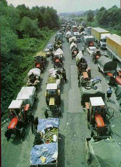 Trail of Tears [1995] is one of the most famous and tragic photos taken during the wars in Former Yugoslavia. It shows a column of Krajina Serbs being expelled by Croat forces in 1995 during Operation Storm. Over 450,000 Serbs were expelled in total. Most of them took refuge in Serbia.