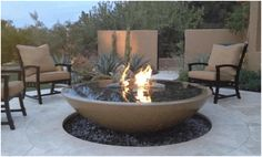 8 Considerate Clever Tips: Fire Pit Seating River Rocks fire pit steel decks.Fire Pit Ring Metal fire pit steel back yard. Fire Pit Bowl, Diy Fire Pit, Fire Bowls, Fire Pit Backyard, Propane Fire Bowl, Concrete Bowl, Concrete Fire Pits, Diy Concrete, Precast Concrete