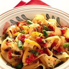 Pappardelle alle verdure  Stai guardando: 10 primi piatti con gli asparagi