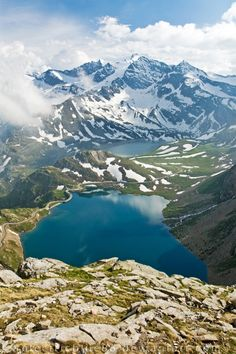 watcher-of-the-skies:    Gran Paradiso by ~electricblue86