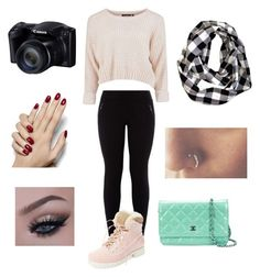 """""""To Cold To Go Outside Outfit"""" by ordinary-people on Polyvore featuring Australia Luxe Collective and Chanel"""