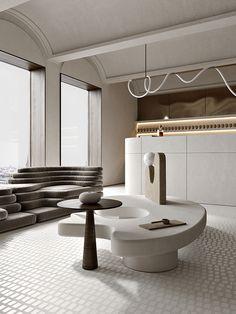 Minimalist Interior, Modern Interior Design, Interior Architecture, Classic Ceiling, Aesthetic Room Decor, Cafe Interior, Ceiling Design, Interior Inspiration, Furniture Design