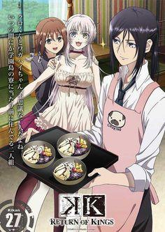 K: Return of Kings - Kukuri, Neko, Kurou