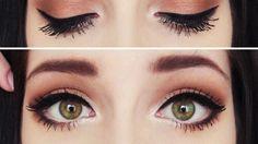 maquillaje de ojos durazno - Buscar con Google
