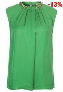 Camicia michael kors donna in sconto del 9% verde a 200,00 euro