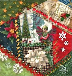 CRAZY QUILTING INTERNATIONAL:     Christmas theme