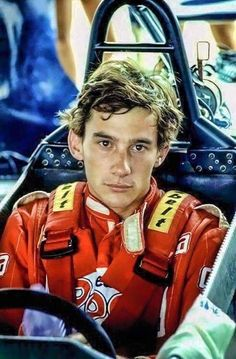 Ayrton Senna was a Formula 1 driver with multiple wins in the international championship. Sadly, he was badly injured in a car fire.