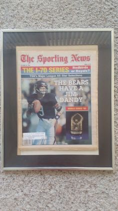 Chicago BEARS Jim McMahon 1985 STAR quarterback!! NFL