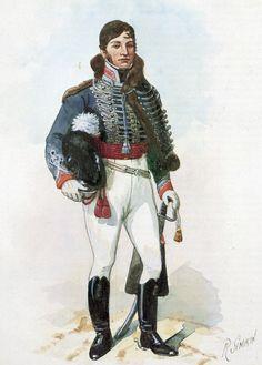 Trooper 15th King/'s Light Dragoons 1813 Del Prado Napoleonic Cavalry Issue 35