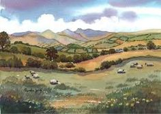 Image result for brecon beacons painting