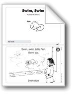 Swim, Swim. Download it at Examville.com - The Education Marketplace. #scholastic #kidsbooks @Karen Echols #teachers #teaching #elementaryschools #teachercreated #ebooks #books #education #classrooms #commoncore #examville