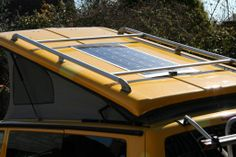 T5 Flat Panel Solar Installation this weekend - VW T4 Forum - VW T5 Forum