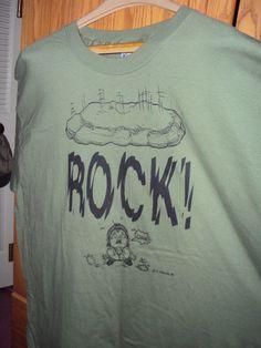 Rock/Guano TSHIRT by Cavernkim on Etsy, $12.50