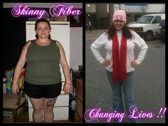 """Wow!! Look at Angel's latest pics:    """"5 months 20 lbs down and I have gone from a 32-34 too a 14-16 down 3 cup sizes and inches are falling off every where my over all health has also improved I ♥ skinny fiber.....  My jeans fit again so so happy Skinny Fiber has changed my life in so many ways!!""""    Order Skinny Fiber today!!   www.SkinnyBodyIn90Days.com"""