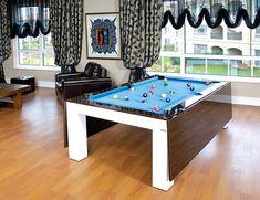 Mesa De Jantar E De Bilhareuqueru  Modern Pools Ping Pong Magnificent Dining Room Ping Pong Table Design Ideas