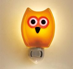Fused Glass Nightlight - Owl in Holiday 2012 from Made In Washington