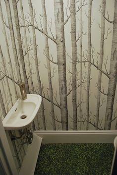 bathroom ideas for small bathrooms under the stairs   Under the Stairs Bathroom - Bathroom Designs - Decorating Ideas - HGTV ...