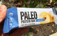 Love Donuts? Get A Cleaner Cheat with Our Paleo Protein Bars! 180 Calories, 20g Protein (Egg Whites), 6 Net Carbs, Healthy Fats & Prebiotic Fiber. 7 Delicious Flavors (Variety Packs Avail) - Get Free Shipping Nationwide at http://www.PaleoBar.com