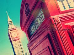 #telephone #big ben #london