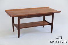 Coffee Table mahogany 0483 #Vintage #Retro #Vintagedressoir #Dressoir #SixtyFruits #60's #Sideboard #vintagefurniture
