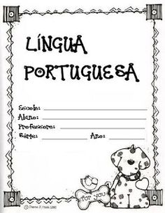 ESPAÇO EDUCAR: Capas de caderno prontas para imprimir - capas de Matemática, Português, Geografia, História e muitas outras capinhas para caderno de aula e casa Sistema Solar, Projects To Try, Notebook, Bullet Journal, The Unit, Julia, Chocolates, Panda, Daily Routines