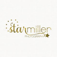 Star Logo Design Typography Logo Photography Logo Graphic Design Photographers…