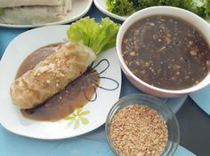 Lumpiang Sariwa Recipe (with Peanut and Sauce)