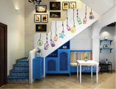 Do you know you can decorate your staircase? here is a great idea : http://bit.ly/Ac6SnB