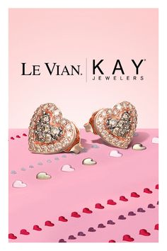 Got a super-sweet Valentine? Color her world with Le Vian Chocolate Diamonds at KAY. Cute Jewelry, Jewelry Accessories, Valentines Jewelry, Kay Jewelers, Women's Earrings, Diamond Earrings, Luxury Jewelry, Le Vian, Jewelery
