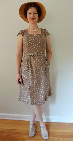 A Sewing Life: Spot of Bother: Simplicity 2174 Dress