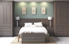 Fitted bedroom furniture, sliding wardobes and home storage solutions Bed With Wardrobe, Bedroom Built In Wardrobe, Bedroom Built Ins, Fitted Bedroom Furniture, Fitted Bedrooms, Closet Bedroom, Home Bedroom, Master Bedroom, Bedroom Decor