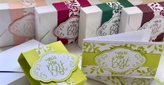 Todays tutorial is for a really quick and easy mini box which holds four to six cute mini notecards. This idea is great as a teacher app...