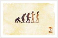 Darwin's Theory Of Evolution, Darwin Theory, Great Ads, Advertising Campaign, My Books, Movie Posters, Symbols, Image, Creative