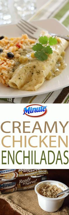 Creamy Chicken Enchi