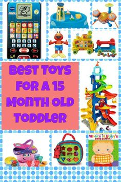 At the time of writing, my son is 15 months old and this article details the toys that he loves to play with at the moment. We have a lot of toys and go to toddler groups and friends houses where he. Baby Activity Toys, Infant Activities, Toys For 18month Old, One Year Old Foods, Activities For One Year Olds, Old Christmas, Christmas Ideas, Things To Do At Home, Toddler Toys
