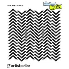TCW: Mini Chevron Stencil