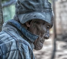 https://flic.kr/p/j18kYd | DR10314/ Portrait | the other HAITI Haitian born sugar cane cutter out of work for years due to closure of the local sugar refinery at least a million Haitians reside illegally in the Dominican Republic Slums outside of San Pedro de Macoris