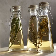 Thanksgiving-Food idea-Homemade flavored olive oils.