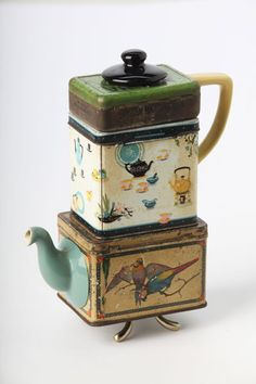 Mirjana Smith ~ Teapot made from found objects
