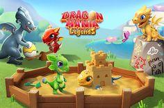 Dragon Mania Legends se mobilise pour un événement caritatif Dragon Ml, Dragon City, Offline Games, Batmobile, Scooby Doo, Concept Art, Drawings, Nara, Mlp