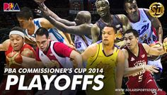 2014 PBA Commissioner's Cup Playoffs First Round Preview - Solar Sports Desk #pba #basketball