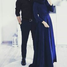 Love each other from you heart Muslim Women Fashion, Modest Fashion, Fashion Outfits, Cute Muslim Couples, Cute Couples, Muslim Couple Photography, Muslimah Wedding Dress, Wedding Dresses, Cute Couple Images