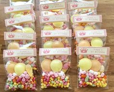 Your place to buy and sell all things handmade Candy Favors, Party Favours, Party Bags, Mum Birthday, Birthday Treats, Party Treats, Marshmallow Tree, Sweetie Cones, Princess Party Favors