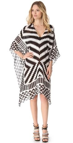 Black + White + Caftan