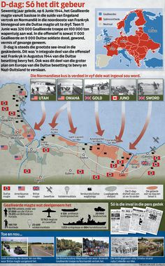 d-day normandy landings map