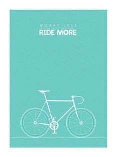 However bad your day has been....a ride will ALWAYS improve it.