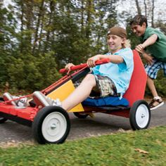 DIY Go-Cart--hubby to help me make this this summer :)