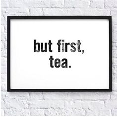 Morning Rituals: Tea or coffee? I personally love a cuppa tea. Living with a coffee lover I'm made a coffee most mornings by @deluxkustoms and I brew a pot of tea for the boys and I. Whatever you and yours are doing today . . . enjoy!  via @calmersutratea #rituals #tea